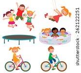 stock cartoon illustration of... | Shutterstock . vector #262122251