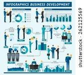 Businessmen Infographics Set...