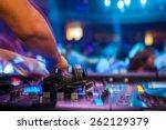 club dj | Shutterstock . vector #262129379