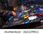 club dj | Shutterstock . vector #262129811