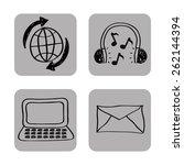 social media design  vector...