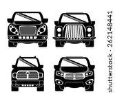 vehicle design over white... | Shutterstock .eps vector #262148441