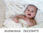baby in blanket | Shutterstock . vector #262156475