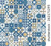 seamless pattern illustration... | Shutterstock .eps vector #262171295