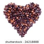 heart shape formed by bunch of... | Shutterstock . vector #26218888