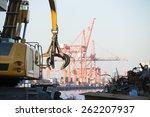 Close Up Of A Crane For...