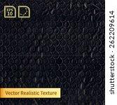 Vector Black Bubble Wrap...