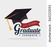 education design over white... | Shutterstock .eps vector #262222031