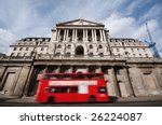 Bank Of England With Motion...