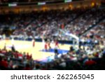 Blurred Background Of Sports...