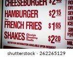 Restaurant Drive Thru Sign    ...