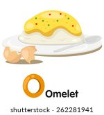 illustrator of o font with...   Shutterstock .eps vector #262281941