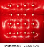 red luxury leather texture old...   Shutterstock . vector #262317641