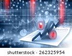 percent growing   Shutterstock . vector #262325954