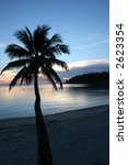 peaceful sunset taken on the... | Shutterstock . vector #2623354