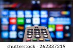 smart tv | Shutterstock . vector #262337219