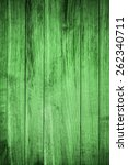 Green Wood Background Or...