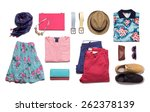 Collection Summer Clothes On A...