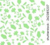 elegant seamless pattern with...   Shutterstock .eps vector #262385237