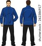 the suit demi season for the...   Shutterstock .eps vector #262386917