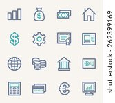 money web icons | Shutterstock .eps vector #262399169