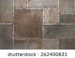 grunge metal texture background | Shutterstock . vector #262400831