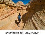 coyote buttes of the vermillion ... | Shutterstock . vector #26240824