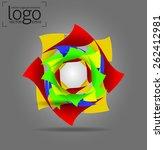 logo design elements   vector...   Shutterstock .eps vector #262412981