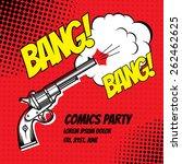 ������, ������: BANG Vector poster comic