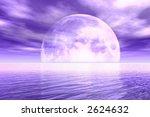 purple moonlight | Shutterstock . vector #2624632