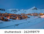 Panorama Of Val Thorens By...