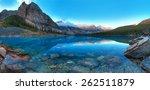 moraine lake in banff national...   Shutterstock . vector #262511879