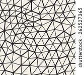 vector seamless pattern.... | Shutterstock .eps vector #262527365