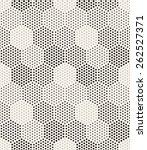 vector seamless pattern. modern ... | Shutterstock .eps vector #262527371