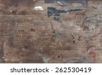 old weathered dirty wood texture | Shutterstock . vector #262530419