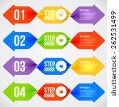 modern infographics element...   Shutterstock .eps vector #262531499