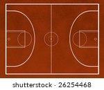 a basketball field | Shutterstock . vector #26254468