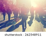 street protest | Shutterstock . vector #262548911