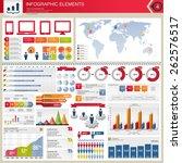 vector infographic elements.   Shutterstock .eps vector #262576517