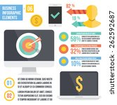 vintage infographics elements....