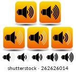 volume   sound level symbols  ...