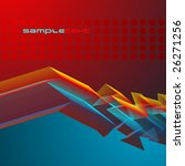 abstract vector background for... | Shutterstock .eps vector #26271256