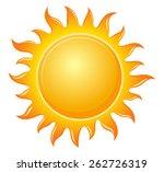 symbol sun | Shutterstock .eps vector #262726319