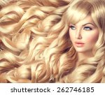 Beauty Blonde Woman Portrait....