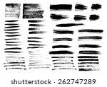 vector illustration of a smear... | Shutterstock .eps vector #262747289