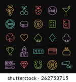 set of quality universal... | Shutterstock .eps vector #262753715