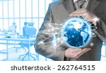 internet concept | Shutterstock . vector #262764515