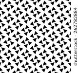 black and white geometric... | Shutterstock .eps vector #262782884