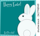 Funky Easter Bunny Card In...