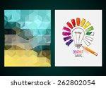 design of progress bar  loading ... | Shutterstock .eps vector #262802054